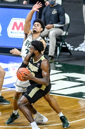 MSU's big men will have their hands full again with Purdue's Trevion Williams, who capped a mammoth second half with the game-winning shot on Jan. 8 at Breslin Center.