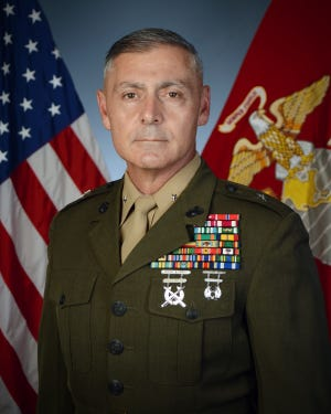 NMSU alumnus Phillip N. Frietze was promoted to the rank of Brigadier General this year and is currently the Commander of U.S. Marine Corps Forces South, in Florida.