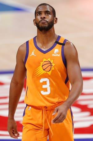 Chris Paul, jugador de los Phoenix Suns.