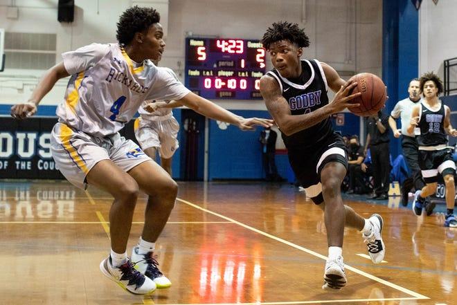 The Godby High School boys basketball team defeated Rickards 52-39 Friday, Jan. 8, 2021.