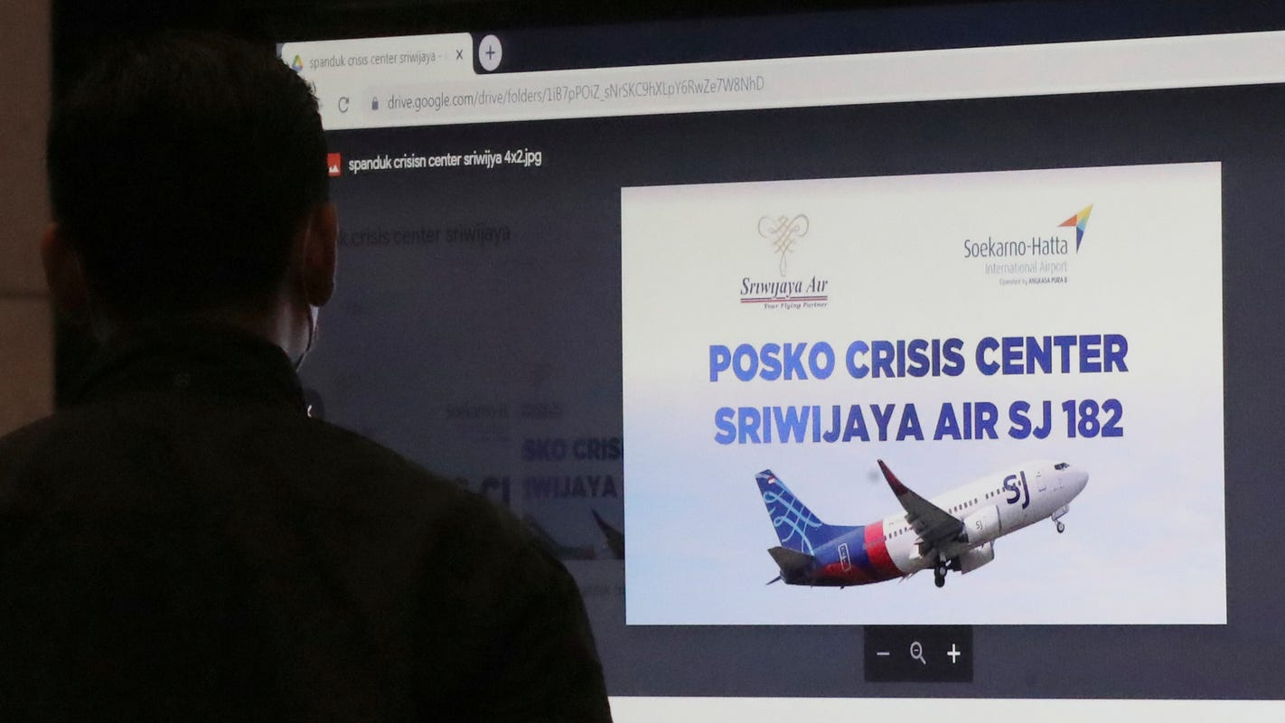 Indonesia flight feared to have crashed: What we know about Sriwijaya Air and the Boeing 737-500