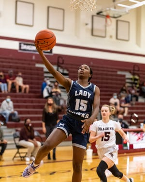 Makayla Ward, who suffered a knee injury last year,  has had a strong comeback, including 18 points in a hard-fought win over Pflugerville Friday.