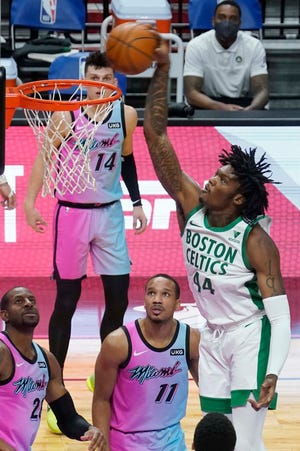Robert Williams was among the players ruled out by the Celtics on Sunday because of the protocols.