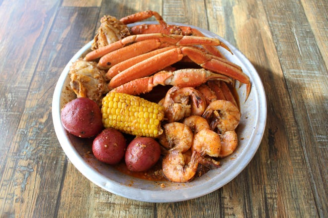 Red Crab Seafood offers southern boil daily specials including shrimp and snow crab legs for $30 on Thursdays.