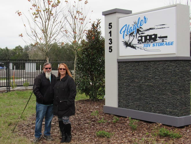 Rich and Pauline Gurell opened Flagler Toy Storage, on Colbert Lane, in Palm Coast, in January 2021 to the public.