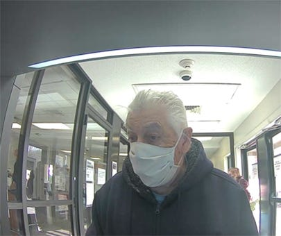 Police in Middletown are seeking to identify this man.