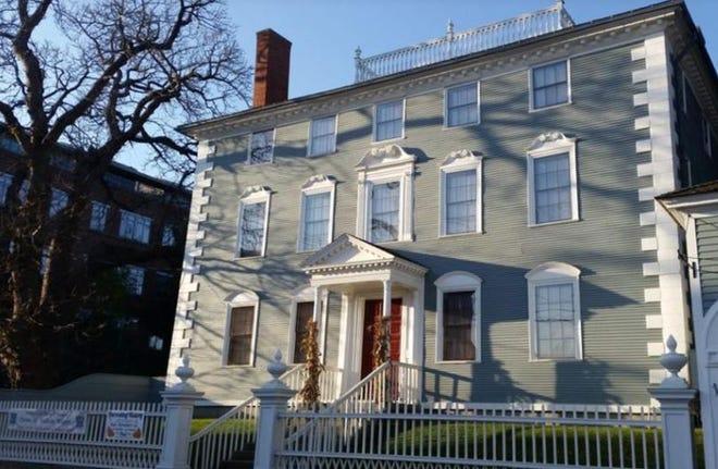 The Moffatt-Ladd House in Portsmouth.