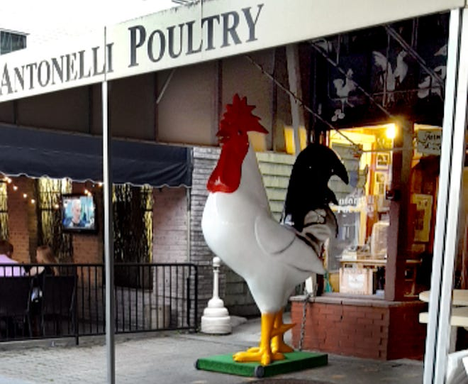 Antonelli Poutlry on DePasquale Square in Providence.