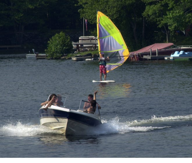 The campground's location on the large freshwater lake makes it a key recreational asset for the state.