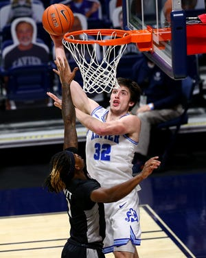 Xavier is scheduled to face Connecticut Saturday for the first time since the Huskies rejoined the Big East Conference last July.