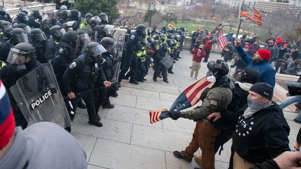 Capitol police were overrun, 'left naked' against insurrection 1
