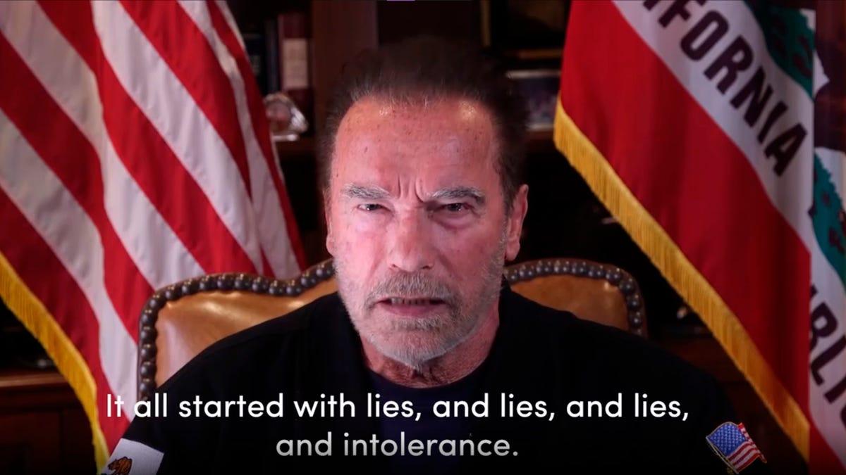 Arnold Schwarzenegger compares U.S. Capitol mob to Nazis 1