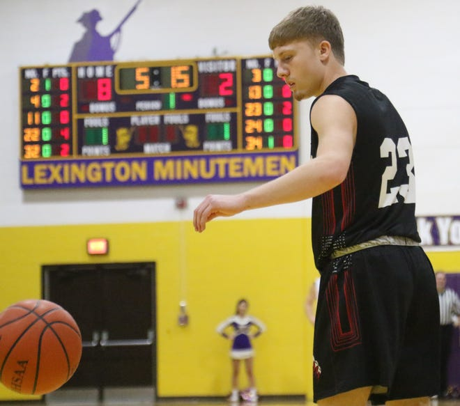 Crestview's Evan Hamilton was selected as an OHSBCA Division III District 6 first team player.