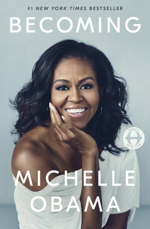 """Michelle Obama's book """"Becoming,"""" is being adapted for young readers by Penguin Random House ."""