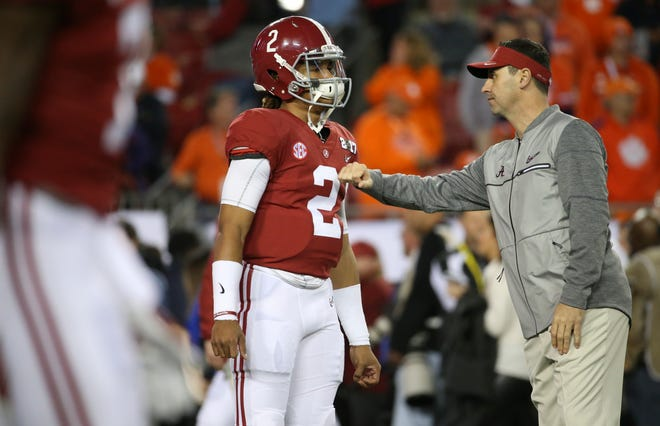 Before he was Alabama's offensive coordinator, Steve Sarkisian was an analyst for Nick Saban. He helped the Crimson Tide win another national championship to earn the Texas job. Then he raided Saban's staff for three of his assistants.