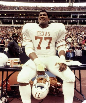Kenneth Sims arrived in Austin from a challenging background as one of eight children of a single mom. He became an All-America defensive lineman at Texas and now is a College Football Hall of Famer.