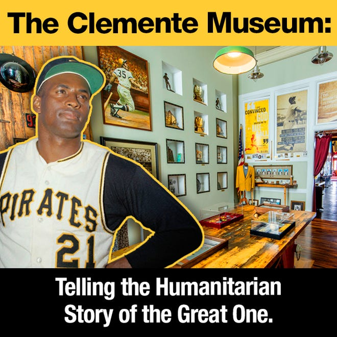 The Roberto Clemente Museum in Pittsburgh offers a virtual tour for Martin Luther King Jr. Day on Monday.