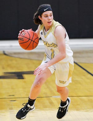 Western Wayne will look to Kaeli Romanowski for leadership at both ends of the floor this season. The junior guard is a returning All-Star who scored more than 400 points last year.
