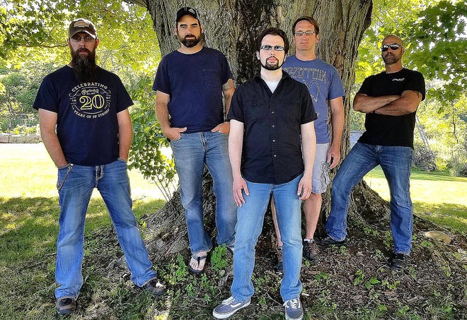 Northern Accents, shown in 2018 with, from left, Jimmi Holmes, Eric Hall, Justin Anderson, Chris DeDionisio and Erich Semelka, is scheduled to perform this weekend at VFW Post 740 near Edinboro.