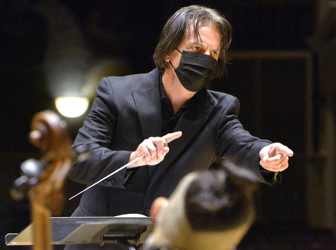 Music Director Daniel Meyer and the Erie Philharmonic are getting ready to perform four new free concerts this winter and early spring.