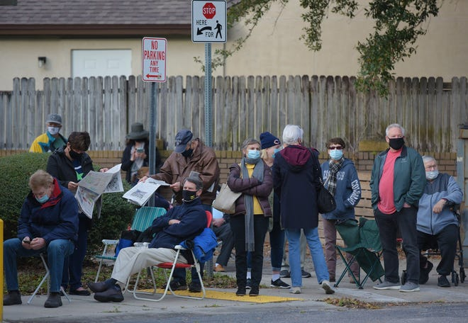 The final day of first-dose vaccinations for the COVID-19 virus was Thursday at Jacksonville's two city-run sites at the Mandarin and Lane Wiley senior centers.
