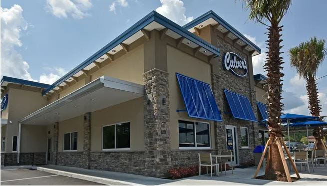 Culver's opened its second Jacksonville-area restaurant Monday at 7923 Parramore Road in the Collins Town Center near Collins Road and Interstate 295 on the city's Westside.