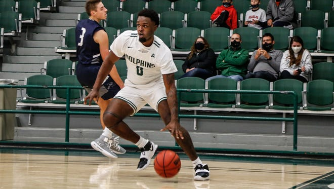 Dontarius James of Jacksonville University was named the ASUN player and newcomer of the week on Monday.