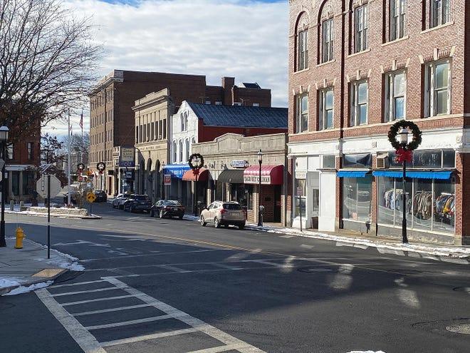 A recent view of Pleasant Street in Gardner.