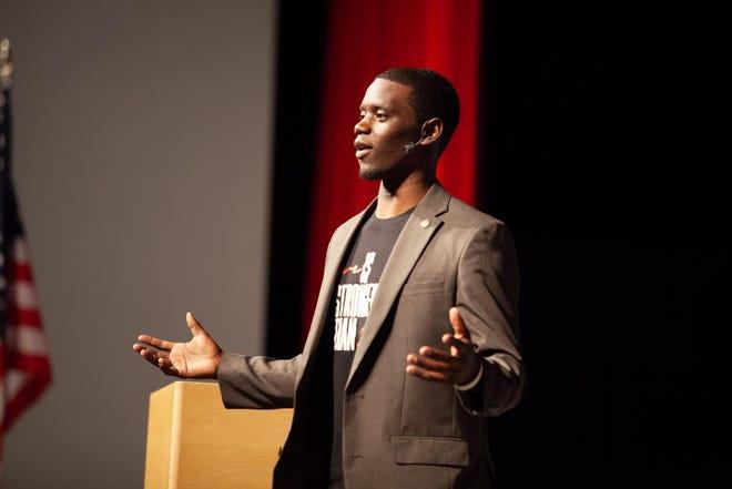 Chris Singleton, a motivational speaker and former pro athlete, will be the keynote speaker for Bethel College's Martin Luther King Jr. Day celebration.