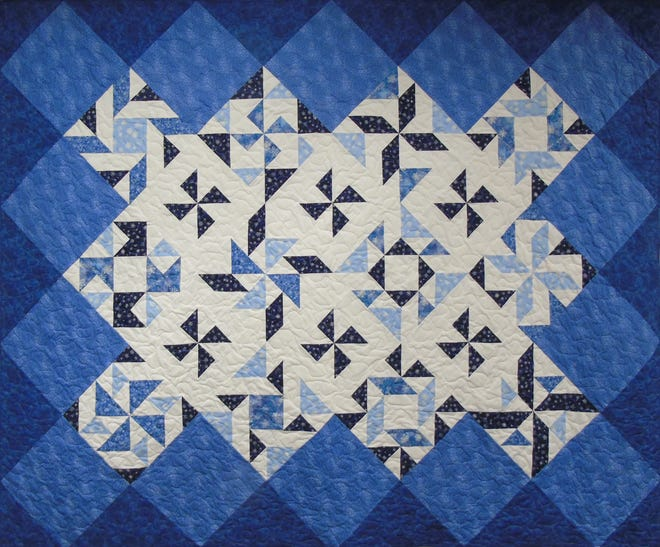 Library patrons can once again view the detailed artistry of the McPhersonQuiltGuild at the McPherson Public Library during January and February.
