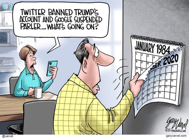 Today's editorial cartoon (Jan. 12, 2021)