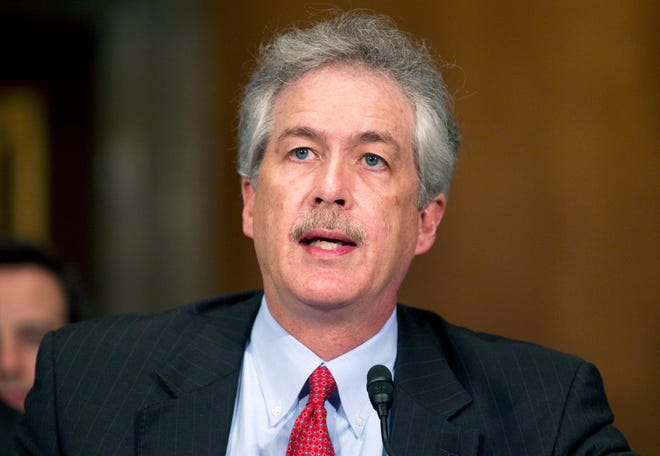 In this May 24, 2011 file photo, William Burns testifies on Capitol Hill in Washington, before the Senate Foreign Relations Committee hearing on his nomination to be Deputy Secretary of State. President-elect Joe Biden announced Monday, Jan. 11, 2021, he has chosen the veteran diplomat to be his CIA director.