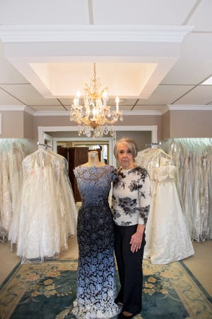 Donna Marie Magaro-Dye, owner of Donna Marie's Bridal Shoppe.