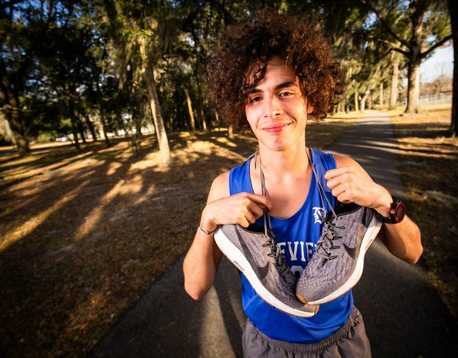 Belleview's Luis Cruzado is this year's Ocala Star Banner's Boys Cross County Runner of the Year.