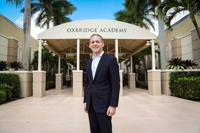 Ralph Maurer, Oxbridge Academy's Head of School in West Palm Beach.