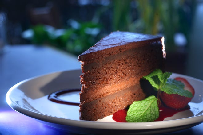 The recipe for Garden Grille's Vegan Chocolate Cake was shared in 2006 when it was on the menu.