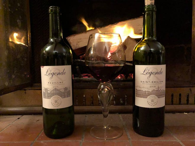 Two wonderful wines from Legende wines, which are produced by Domaines Barons de Rothschild (Lafite).