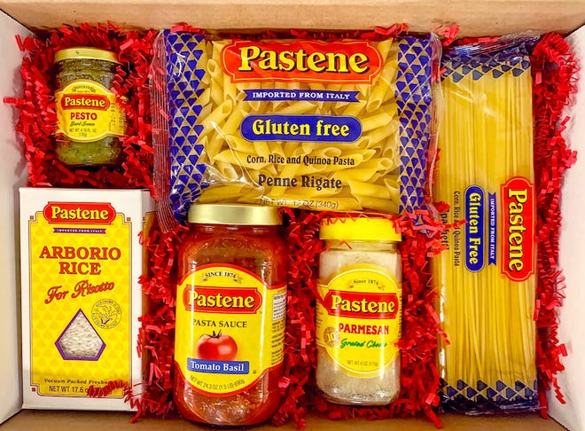 Pastene's Gluten-Free Pasta Lovers Gift Box is available for $24.99.