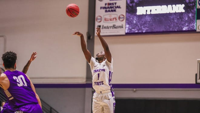 Tarleton's Montre' Gipson scored a career-high 30 points, including 22 in the second half alone, as the junior guard nearly led Tarleton to a comeback win in its Western Athletic Conference opener against Grand Canyon on Friday.