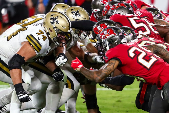 Not surprisingly, the Tampa Bay Buccaneers will face the New Orleans Saints in the divisional-round game on Sunday.