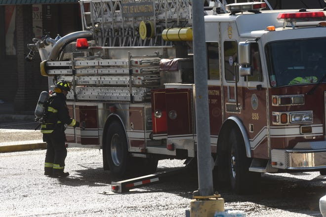The Wilmington Fire Department arrived to the 4900 block of Rye Lane Sunday where they saw heavy smoke and fire. The fire left a person injured while killing a dog.