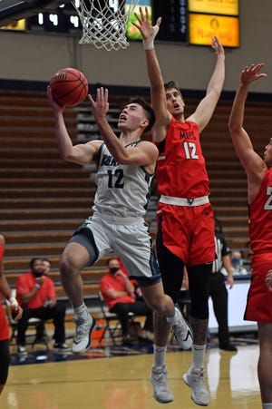 After leading Washburn in scoring, rebounding, assists and steals, senior guard Tyler Geiman was named unanimous first-team All-MIAA on Wednesday. Geiman was also chosen to the league's all-defensive team.