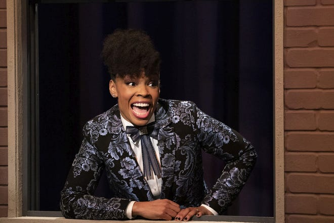 Amber Ruffin hosts her own late-night show on NBC's streaming service, Peacock.