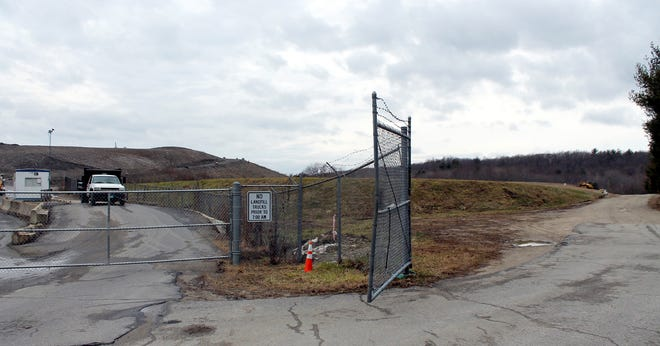 The Clinton landfill is being rebuilt using fill.
