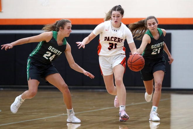 Alexis Amabile was averaging 22.8 points through eight games for Delaware Hayes, which was 6-2 overall and 3-2 in the OCC-Capital Division before playing Westerville North on Jan. 12.