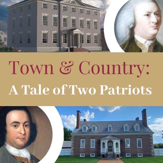 "Marblehead Museum will hold a ""Town & Country: A Tale of Two Patriots"" virtual program on Jan. 21."
