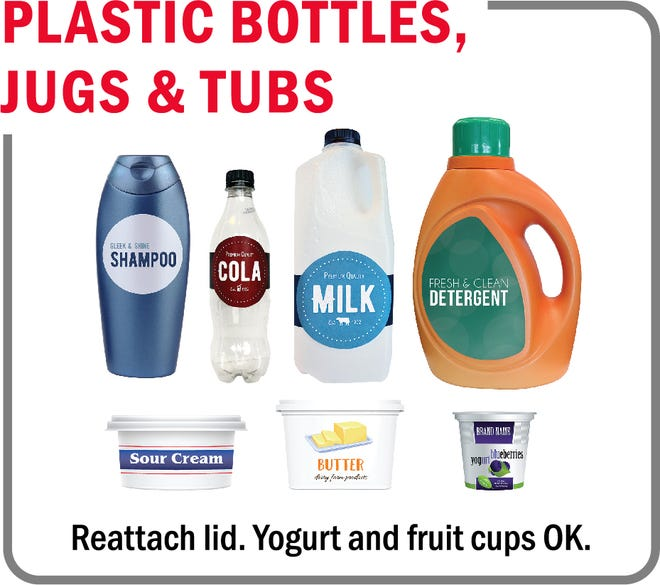 These items are now accepted by Rumpke recycling, officials announced Monday.