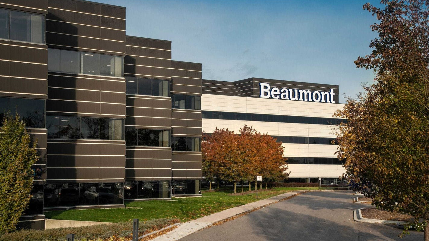 Beaumont and Spectrum Health plan to merge, forming Michigan's biggest health system