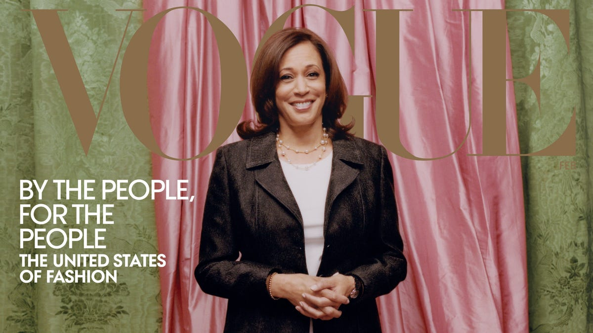 Harris team says it was blindsided by VP-elect's Vogue cover 1