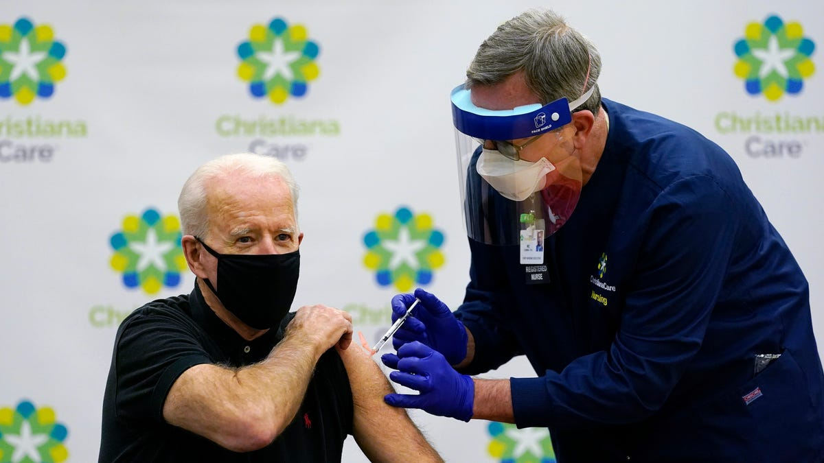Biden gets 2nd dose of vaccine as team readies COVID-19 plan 1